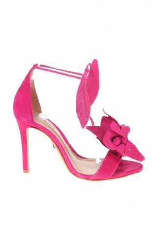 Σανδάλια Schutz, Μέγεθος 36, Χρώμα Ρόζ , Φυσικό σουέτ, Τιμή 48,99€