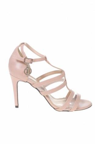 Сандали Trussardi Jeans, Размер 39, Цвят Розов, Еко кожа, Цена 135,32лв.
