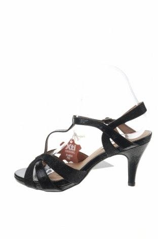 Σανδάλια Xti, Μέγεθος 37, Χρώμα Μαύρο, Δερματίνη, Τιμή 19,56€