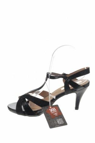 Σανδάλια Xti, Μέγεθος 39, Χρώμα Μαύρο, Δερματίνη, Τιμή 19,56€