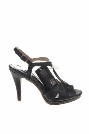 Σανδάλια Xti, Μέγεθος 37, Χρώμα Μαύρο, Δερματίνη, Τιμή 18,85€