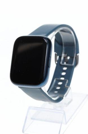 Смарт часовник, Цвят Син, Силикон, метал, Цена 30,16лв.
