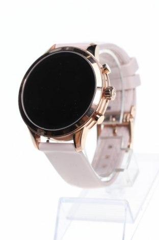 Смарт часовник Michael Kors, Цвят Розов, Силикон, метал, Цена 325,58лв.