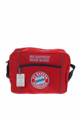 Спортен сак Bayern Munchen, Цвят Червен, Текстил, Цена 39,90лв.