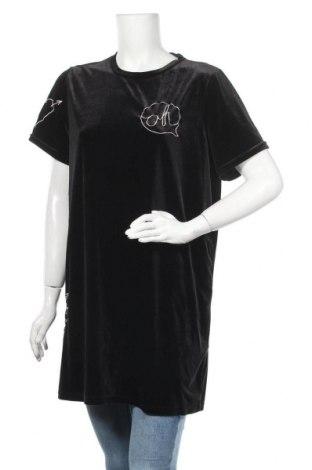 Туника H&M Divided, Размер L, Цвят Черен, 92% полиестер, 8% еластан, Цена 15,17лв.