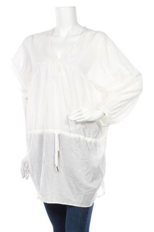 Τουνίκ Noa Noa, Μέγεθος M, Χρώμα Λευκό, 54% βισκόζη, 46% βαμβάκι, Τιμή 28,22€