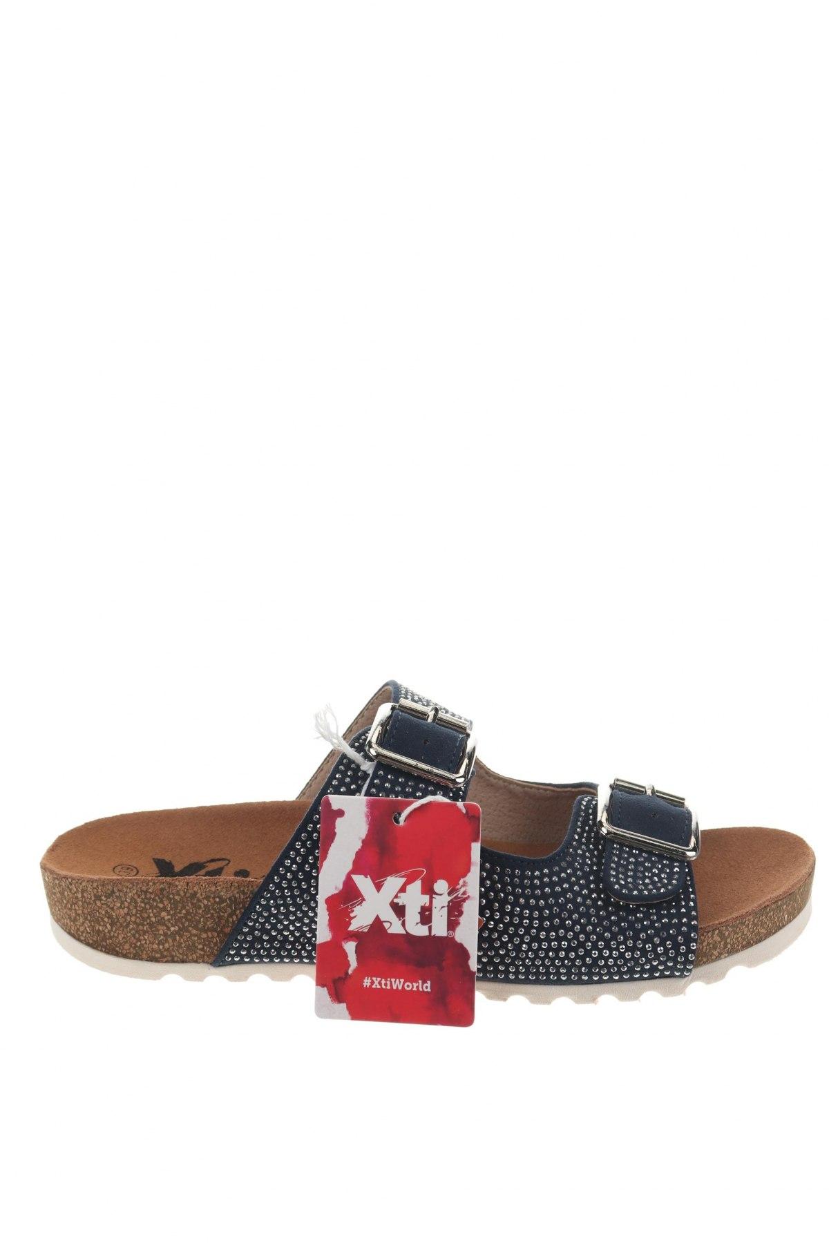 Γυναικείες παντόφλες Xti, Μέγεθος 39, Χρώμα Μπλέ, Κλωστοϋφαντουργικά προϊόντα, Τιμή 13,89€