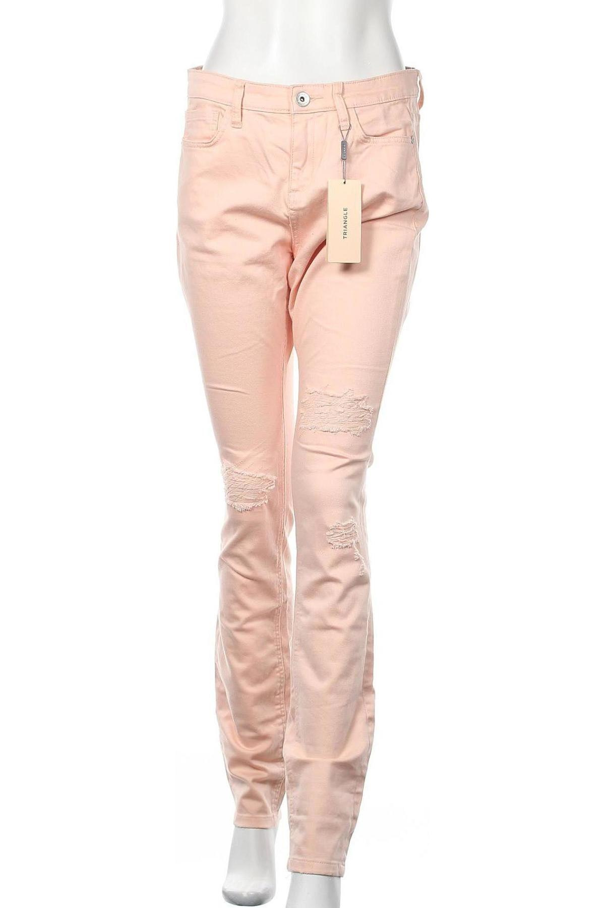 Дамски дънки Triangle By s.Oliver, Размер M, Цвят Розов, 98% памук, 2% еластан, Цена 23,22лв.