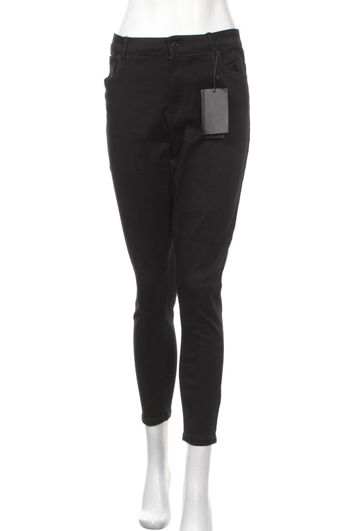 Γυναικείο Τζίν Vero Moda, Μέγεθος XL, Χρώμα Μαύρο, 67% βαμβάκι, 31% πολυεστέρας, 2% ελαστάνη, Τιμή 22,81€