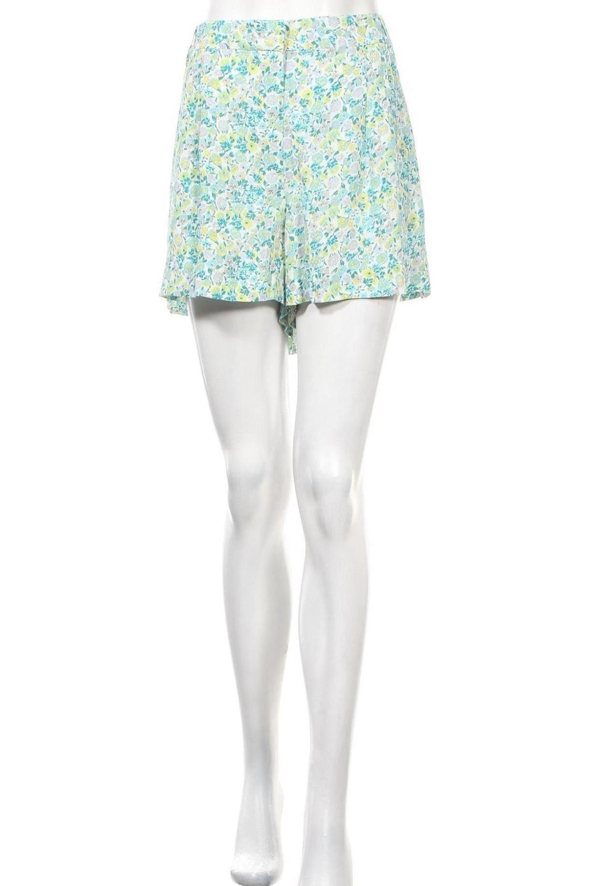 Γυναικείο κοντό παντελόνι French Connection, Μέγεθος XL, Χρώμα Πολύχρωμο, Βισκόζη, Τιμή 22,94€