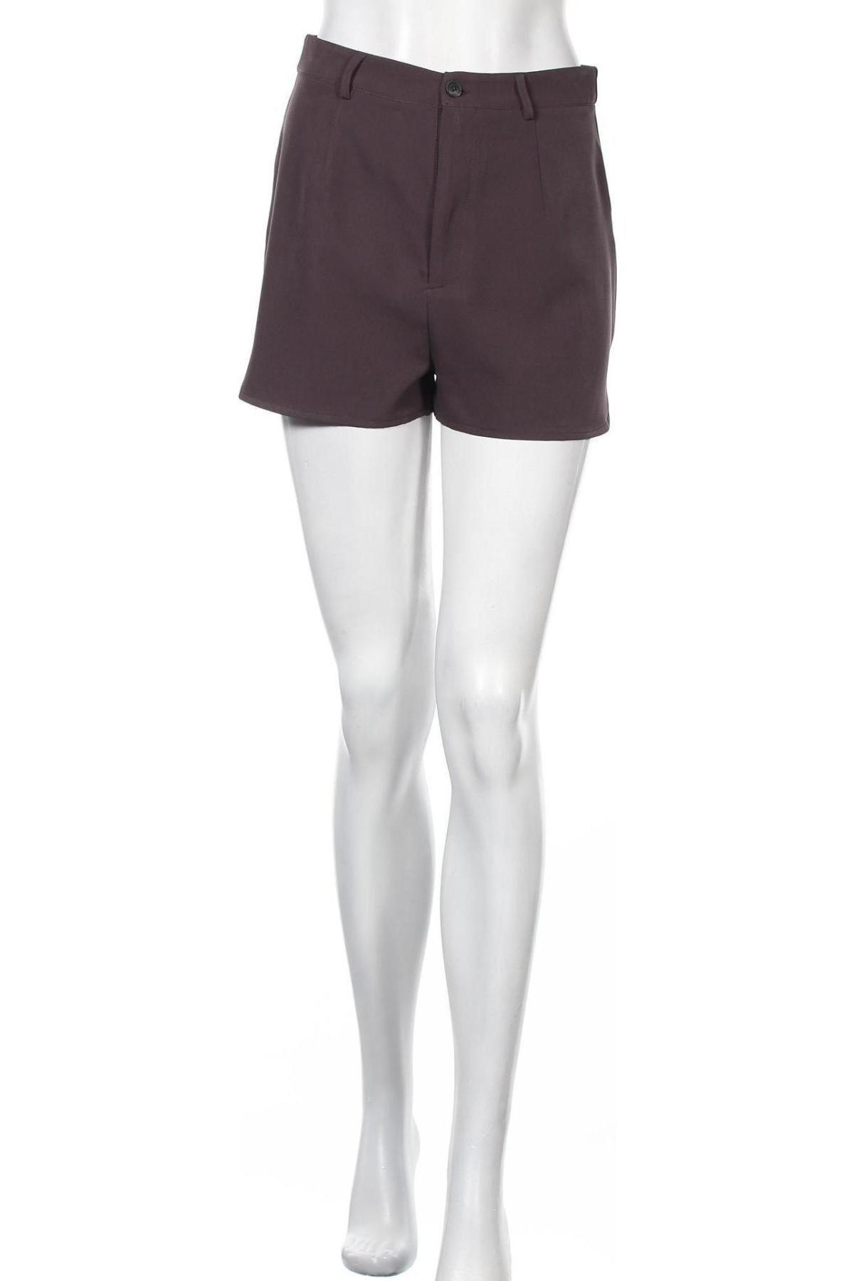 Γυναικείο κοντό παντελόνι Missguided, Μέγεθος S, Χρώμα Γκρί, Τιμή 10,21€