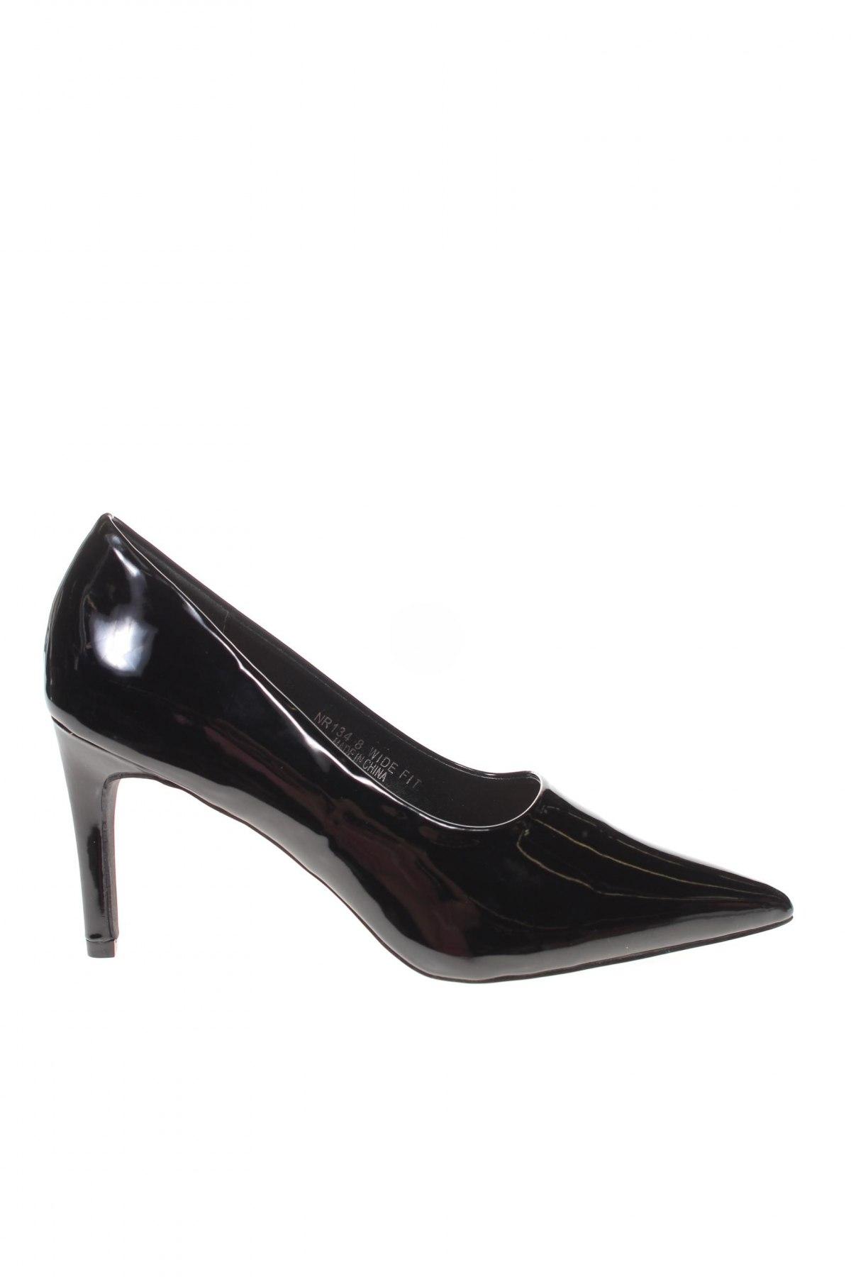 Дамски обувки Simply Be, Размер 41, Цвят Черен, Еко кожа, Цена 23,21лв.