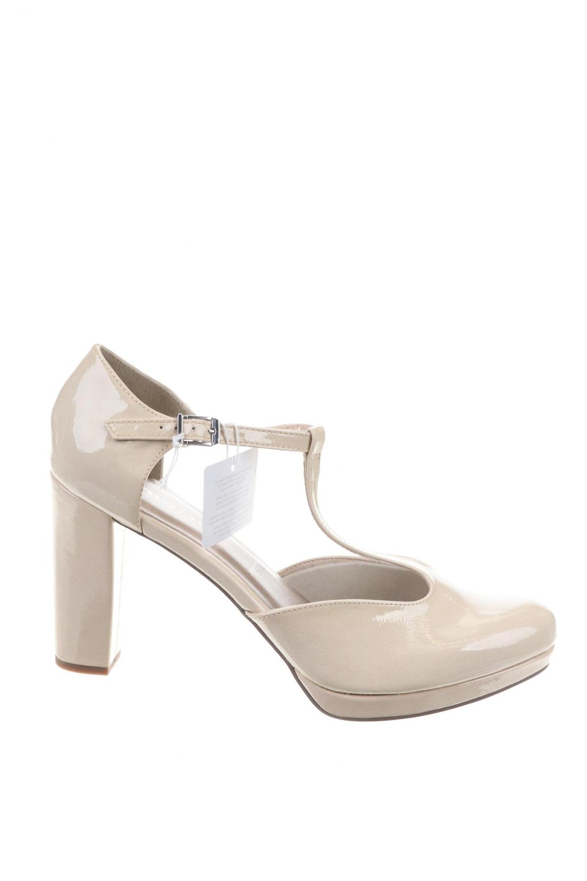 Γυναικεία παπούτσια Tamaris, Μέγεθος 42, Χρώμα  Μπέζ, Δερματίνη, Τιμή 17,43€