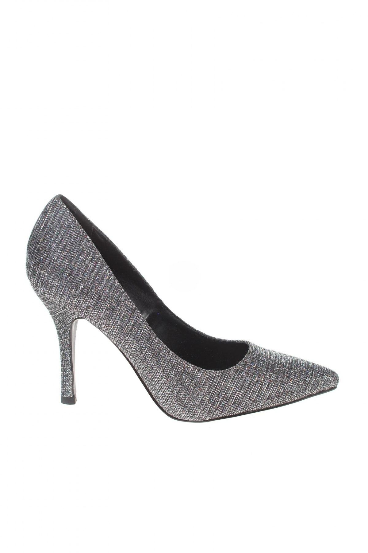 Дамски обувки Tata, Размер 36, Цвят Сребрист, Текстил, Цена 51,75лв.