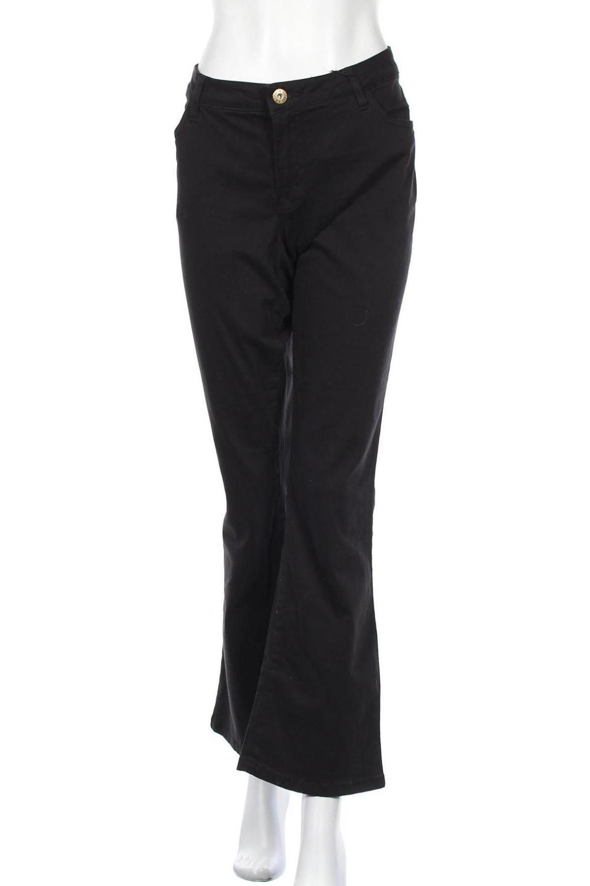 Дамски панталон Arizona, Размер XL, Цвят Черен, 98% памук, 2% еластан, Цена 38,64лв.