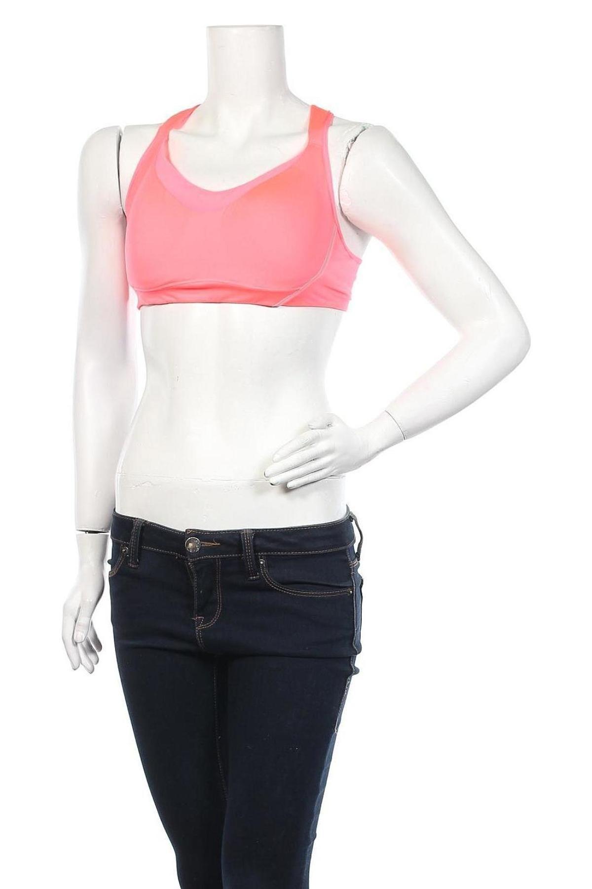 Дамски спортен топ Oysho, Размер L, Цвят Розов, 79% полиамид, 21% еластан, Цена 27,00лв.