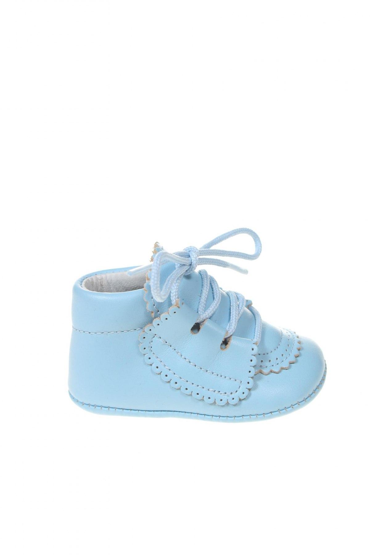 Παιδικά παπούτσια Lola Palacios, Μέγεθος 15, Χρώμα Μπλέ, Γνήσιο δέρμα, Τιμή 13,76€