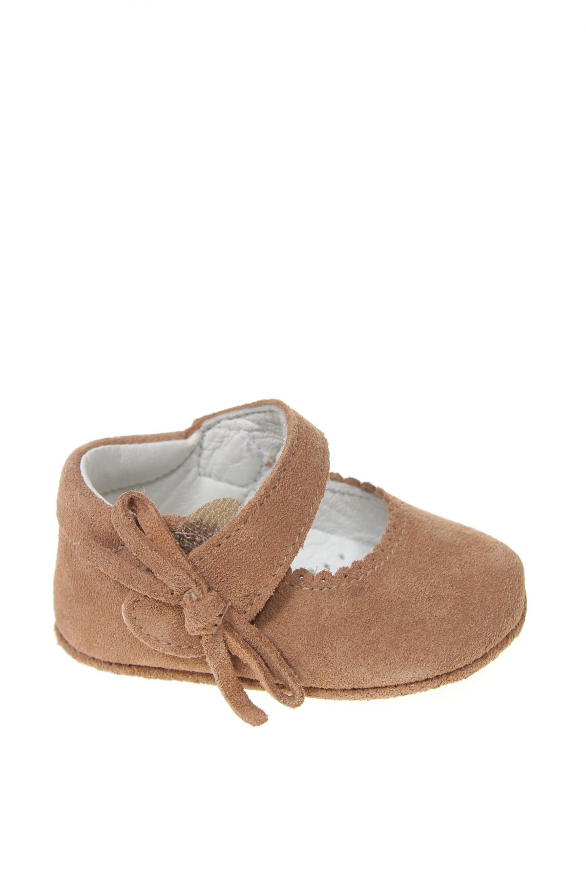 Детски обувки Lola Palacios, Размер 15, Цвят Кафяв, Естествен велур, Цена 13,28лв.