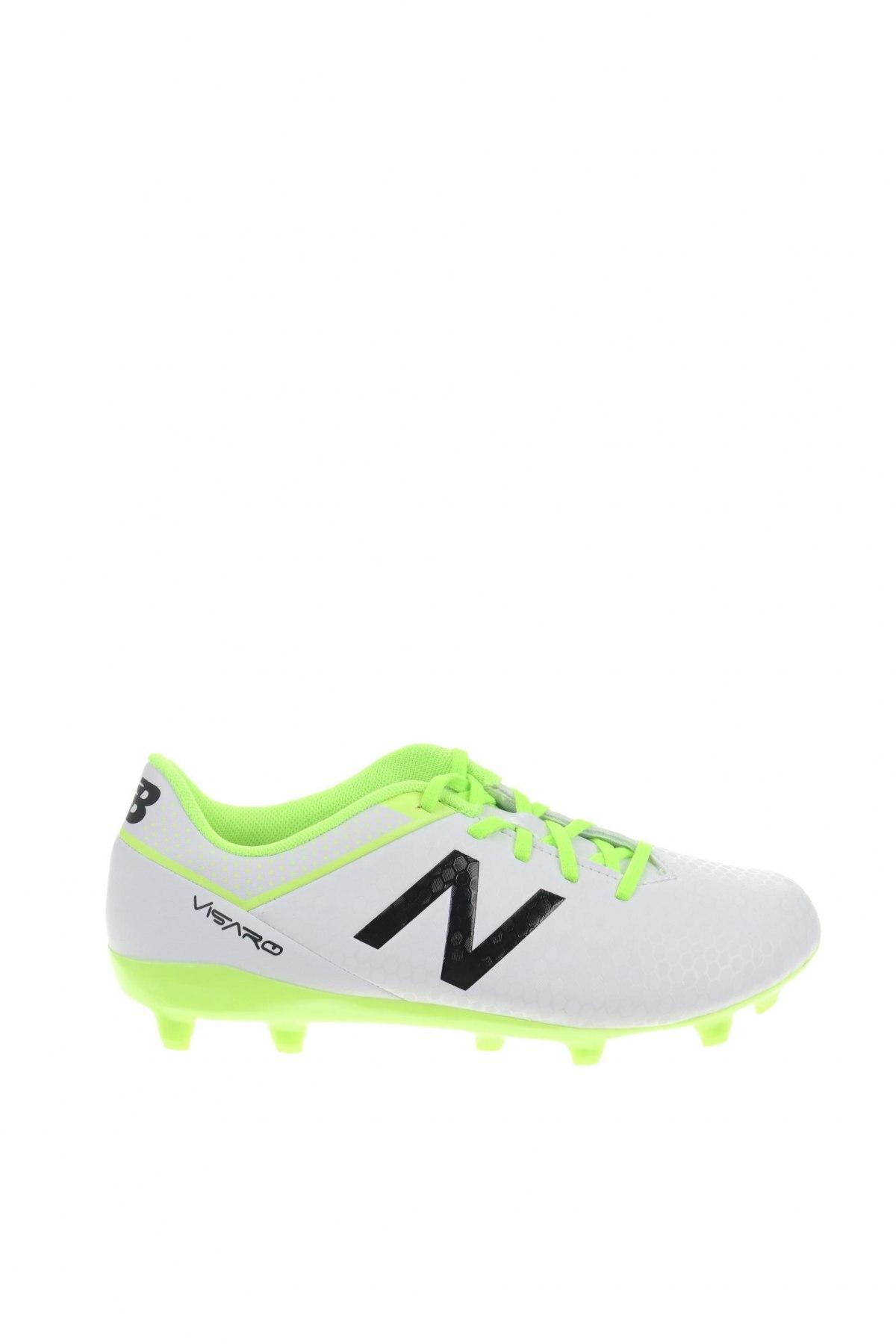 Детски обувки New Balance, Размер 32, Цвят Бял, Еко кожа, Цена 16,68лв.