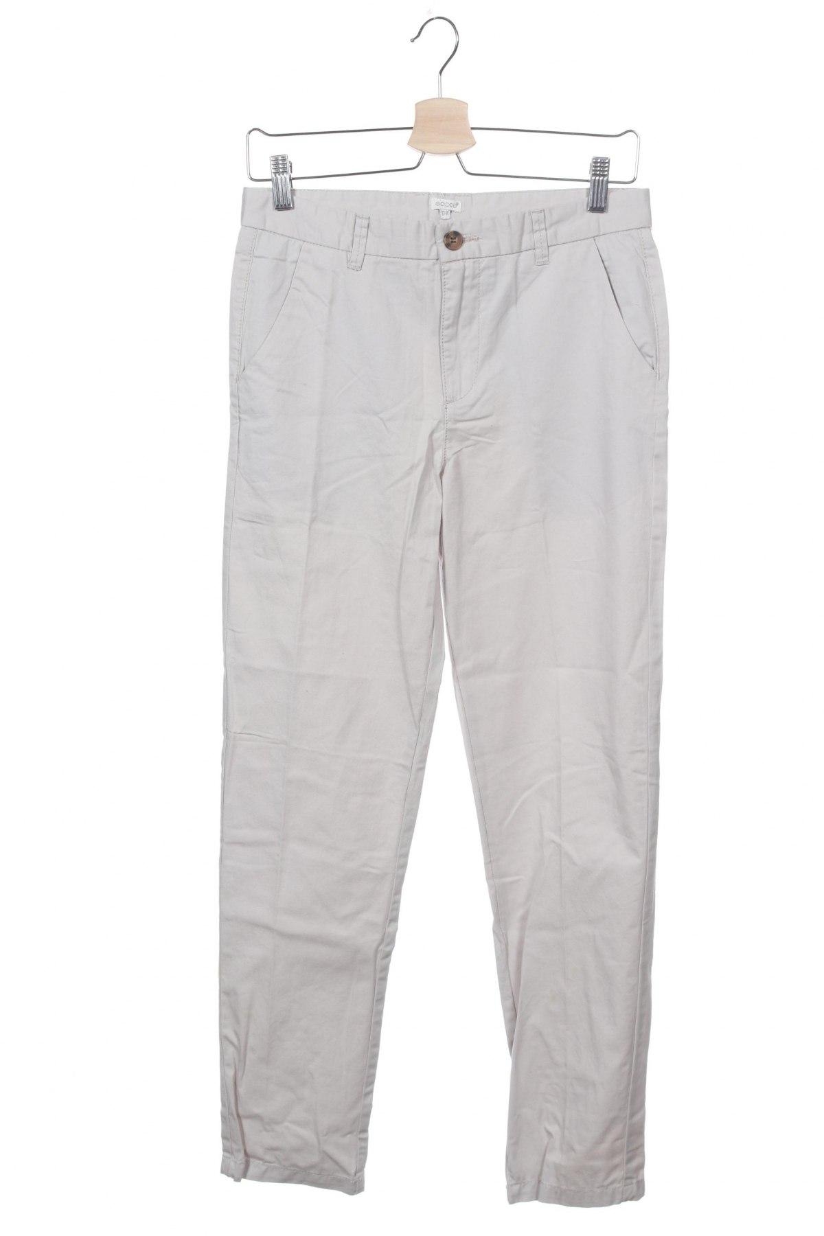 Παιδικό παντελόνι Gocco, Μέγεθος 13-14y/ 164-168 εκ., Χρώμα Γκρί, Βαμβάκι, Τιμή 8,04€