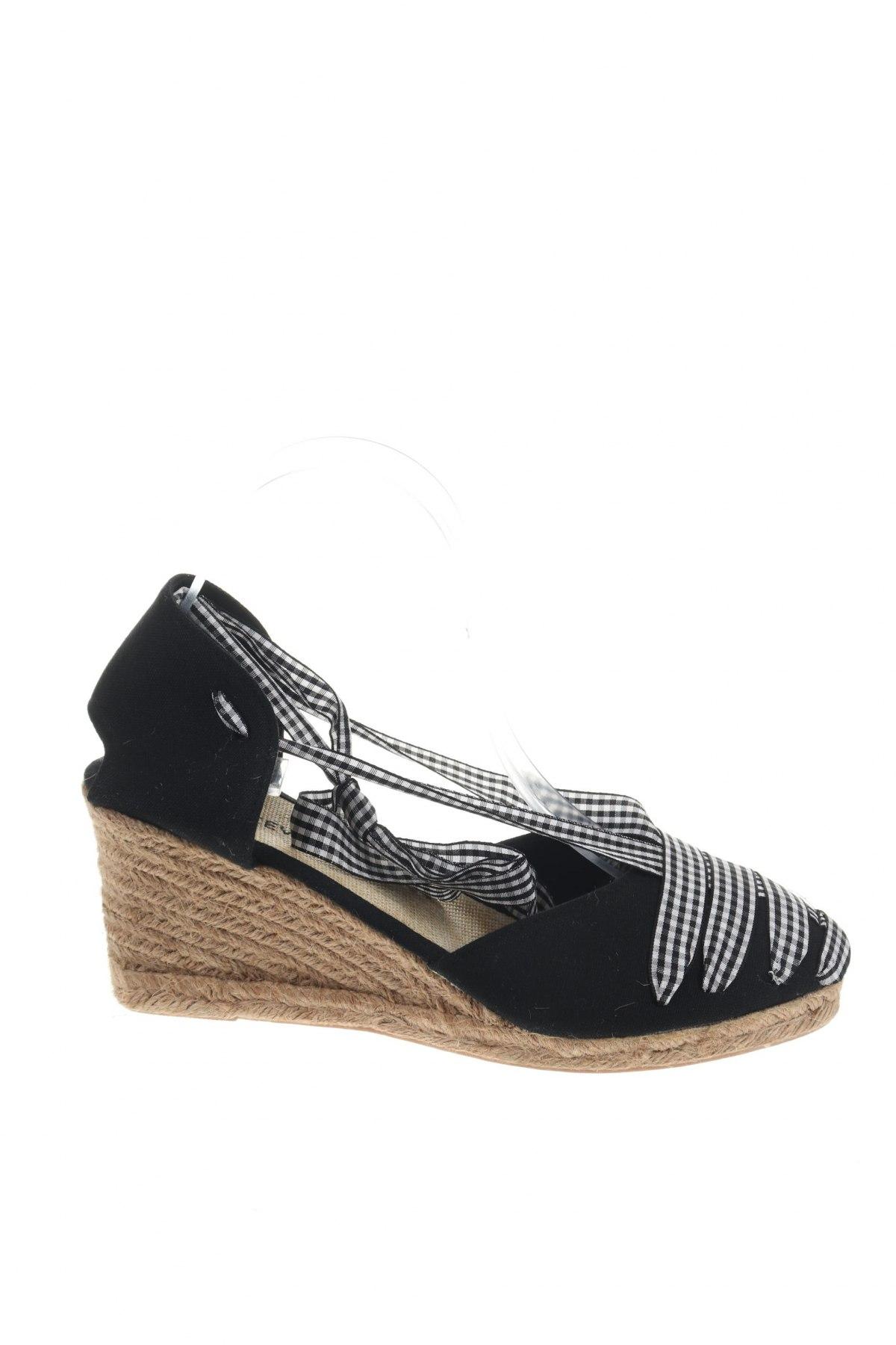 Εσπάδριλλες Nicewalk, Μέγεθος 40, Χρώμα Μαύρο, Κλωστοϋφαντουργικά προϊόντα, Τιμή 15,54€