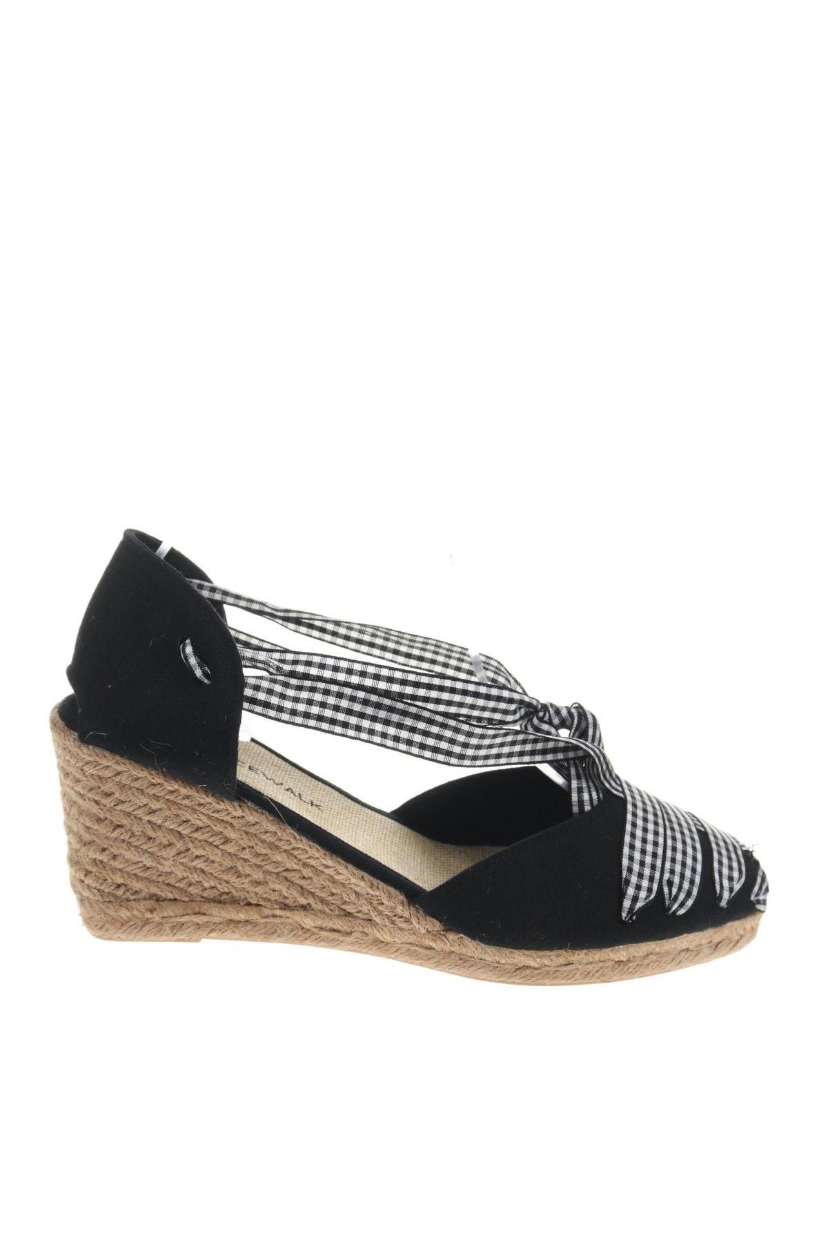 Εσπάδριλλες Nicewalk, Μέγεθος 39, Χρώμα Μαύρο, Κλωστοϋφαντουργικά προϊόντα, Τιμή 15,54€
