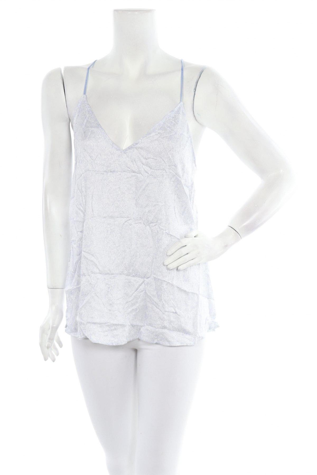 Пижама Oysho, Размер L, Цвят Син, Вискоза, Цена 11,88лв.