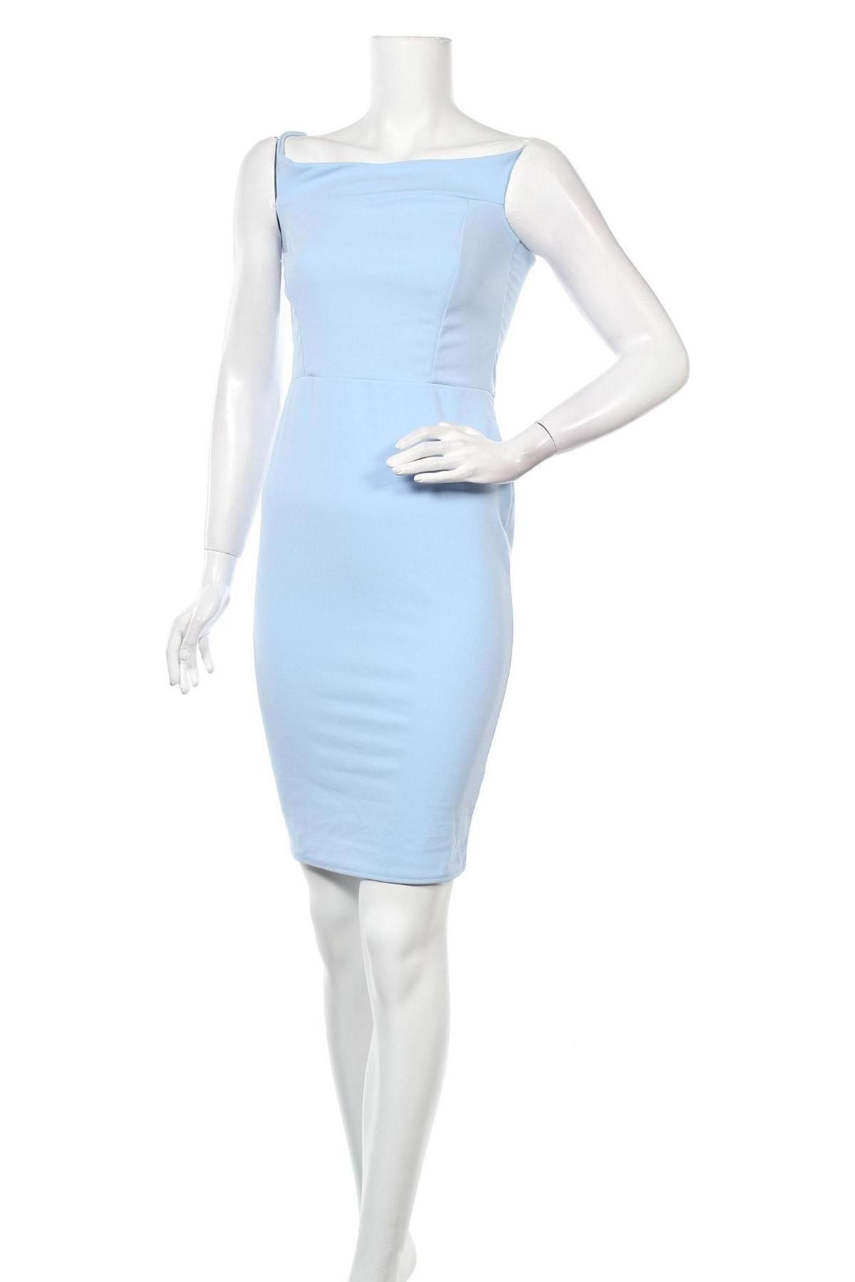 Рокля Missguided, Размер XS, Цвят Син, 95% полиестер, 5% еластан, Цена 57,00лв.