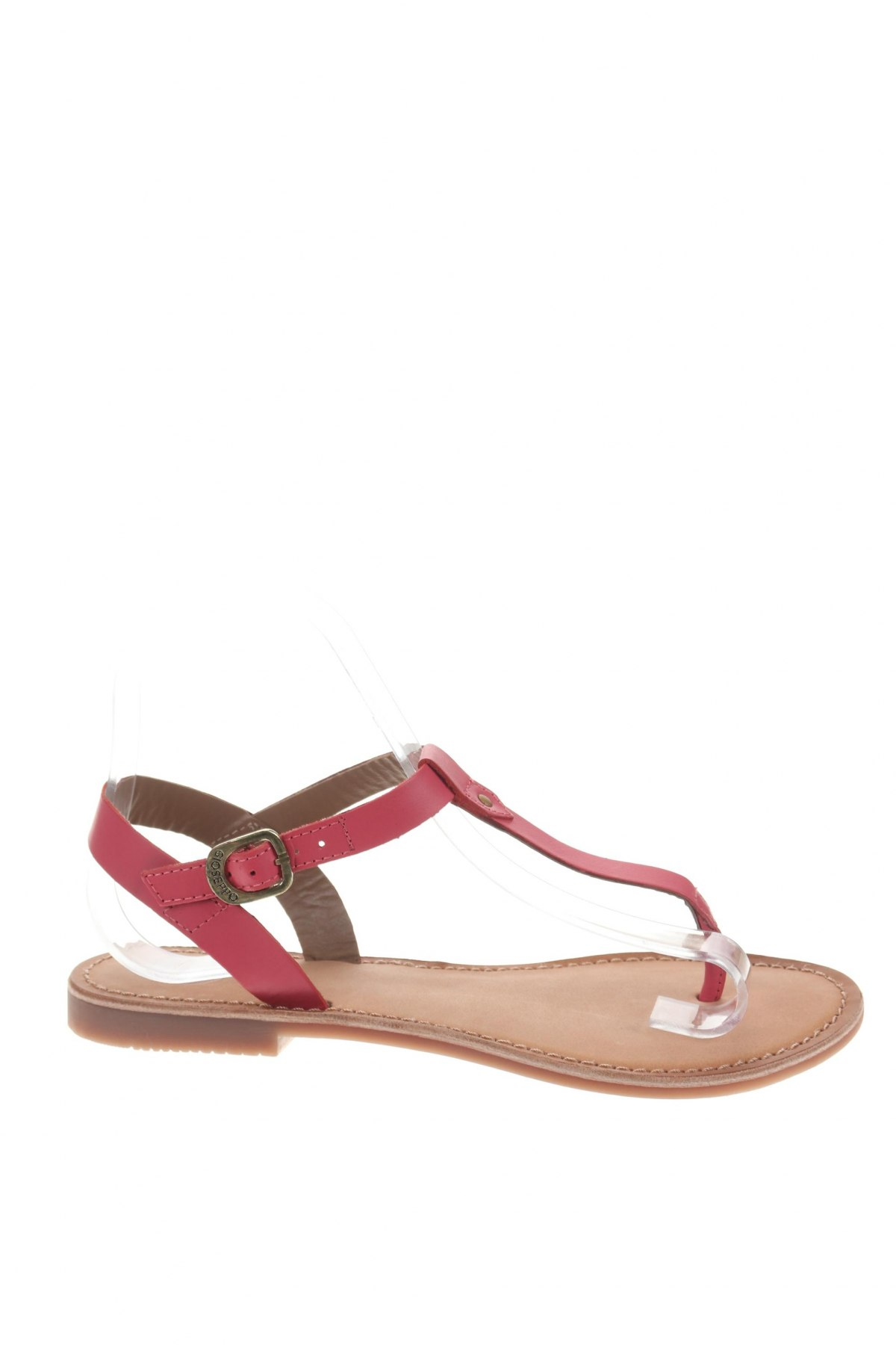 Σανδάλια Gioseppo, Μέγεθος 37, Χρώμα Ρόζ , Γνήσιο δέρμα, Τιμή 22,95€