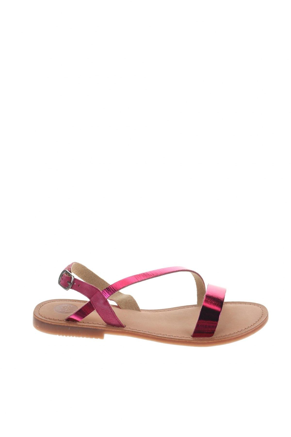 Сандали Gioseppo, Размер 38, Цвят Розов, Естествена кожа, естествен велур, Цена 31,92лв.