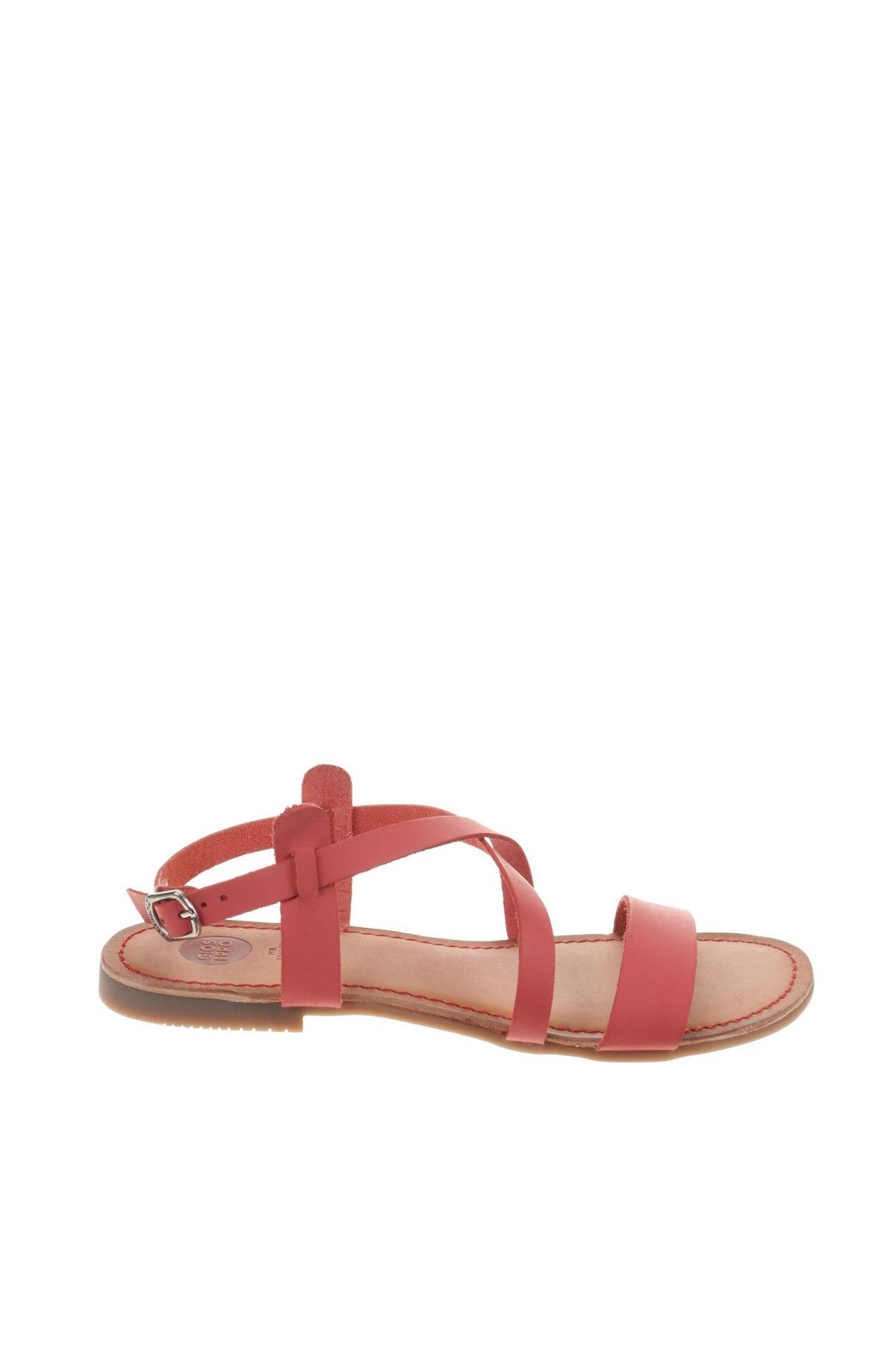Σανδάλια Gioseppo, Μέγεθος 38, Χρώμα Ρόζ , Γνήσιο δέρμα, Τιμή 23,82€