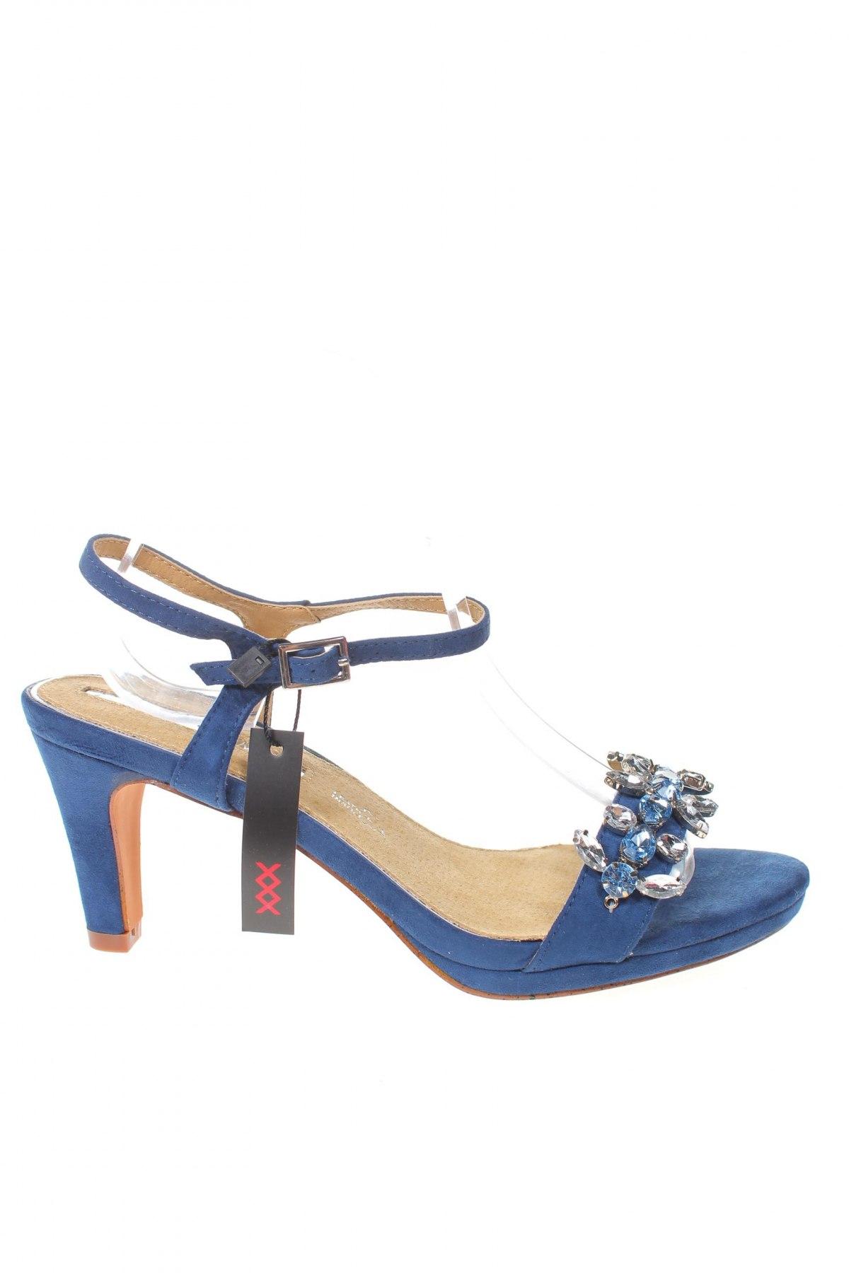 Σανδάλια Maria Mare, Μέγεθος 40, Χρώμα Μπλέ, Κλωστοϋφαντουργικά προϊόντα, Τιμή 16,73€