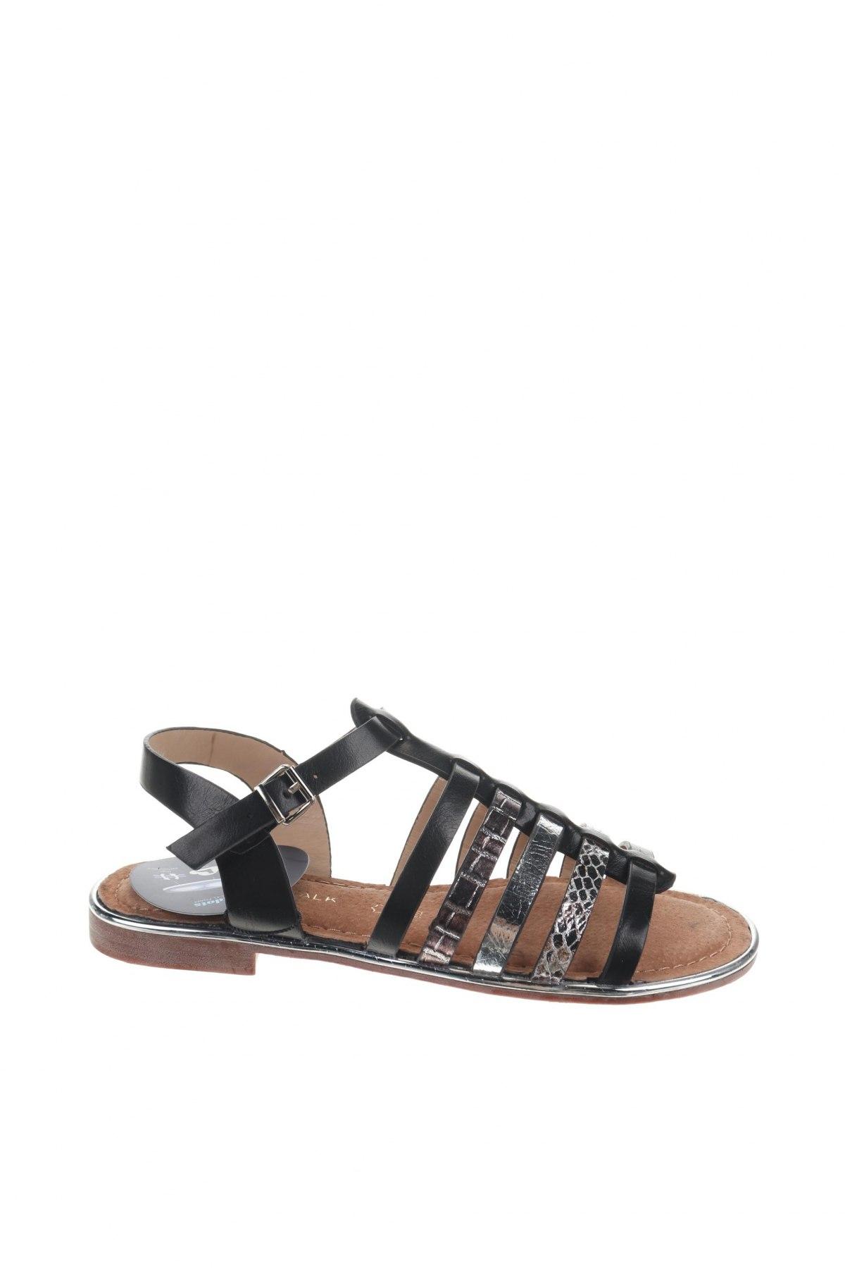 Σανδάλια Nicewalk, Μέγεθος 36, Χρώμα Μαύρο, Δερματίνη, Τιμή 13,39€