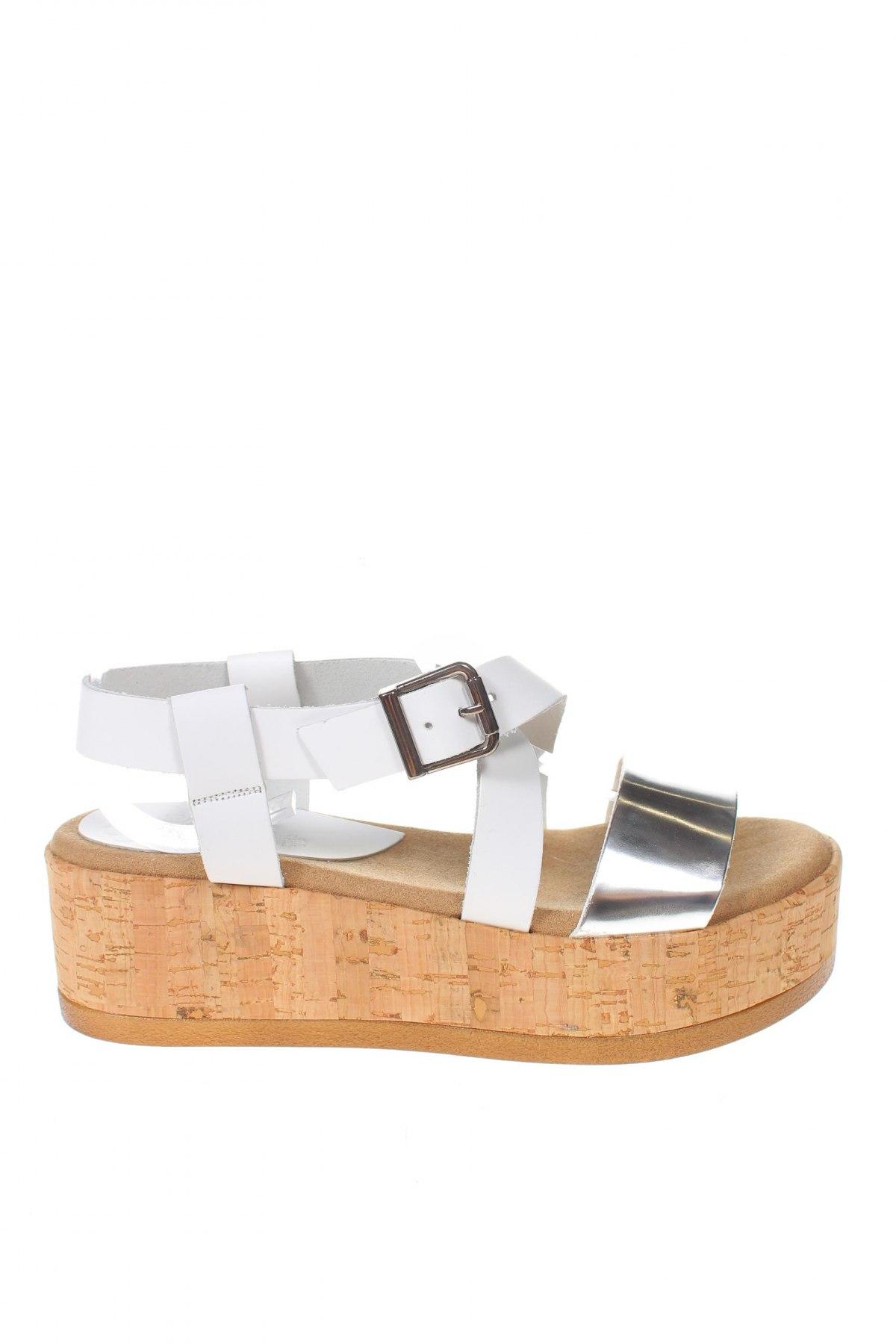 Σανδάλια Porronet, Μέγεθος 37, Χρώμα Λευκό, Γνήσιο δέρμα, δερματίνη, Τιμή 24,32€