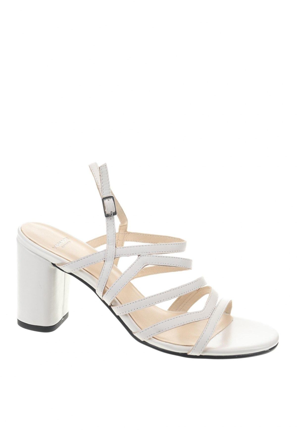 Σανδάλια Vagabond, Μέγεθος 38, Χρώμα Λευκό, Γνήσιο δέρμα, Τιμή 43,56€