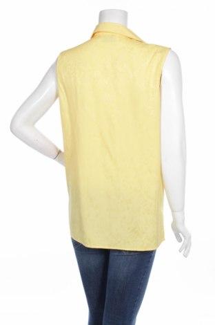 Γυναικείο πουκάμισο De Ville, Μέγεθος L, Χρώμα Κίτρινο, 55% βισκόζη, 45% πολυεστέρας, Τιμή 9,28€