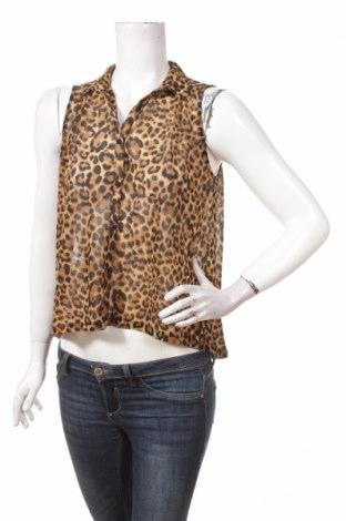 Γυναικείο πουκάμισο H&M Divided, Μέγεθος S, Χρώμα Καφέ, Πολυεστέρας, Τιμή 9,90€