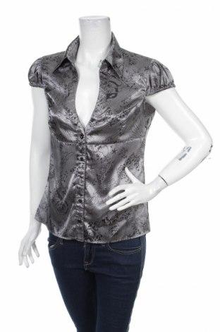 Дамска риза Tally Weijl, Размер L, Цвят Сив, 96% полиестер, 4% еластан, Цена 4,50лв.