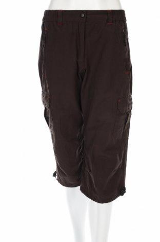Дамски панталон, Размер M, Цвят Кафяв, 82% полиестер, 12% памук, 6% еластан, Цена 7,36лв.