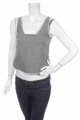 Γυναικείο αμάνικο μπλουζάκι Munthe Plus Simonsen, Μέγεθος M, Χρώμα Γκρί, 50% λινό, 40% βισκόζη, 10% πολυεστέρας, Τιμή 4,49€