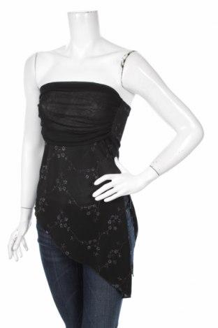 Γυναικείο αμάνικο μπλουζάκι Roberta, Μέγεθος S, Χρώμα Μαύρο, Τιμή 2,17€