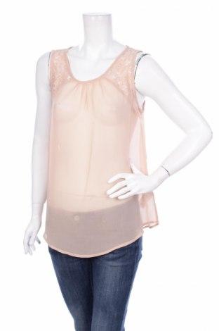 Γυναικείο αμάνικο μπλουζάκι Soya Concept, Μέγεθος M, Χρώμα  Μπέζ, Πολυεστέρας, Τιμή 2,86€