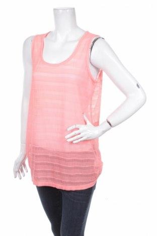 Γυναικείο αμάνικο μπλουζάκι Zay, Μέγεθος M, Χρώμα Πορτοκαλί, 92% πολυαμίδη, 8% ελαστάνη, Τιμή 2,89€