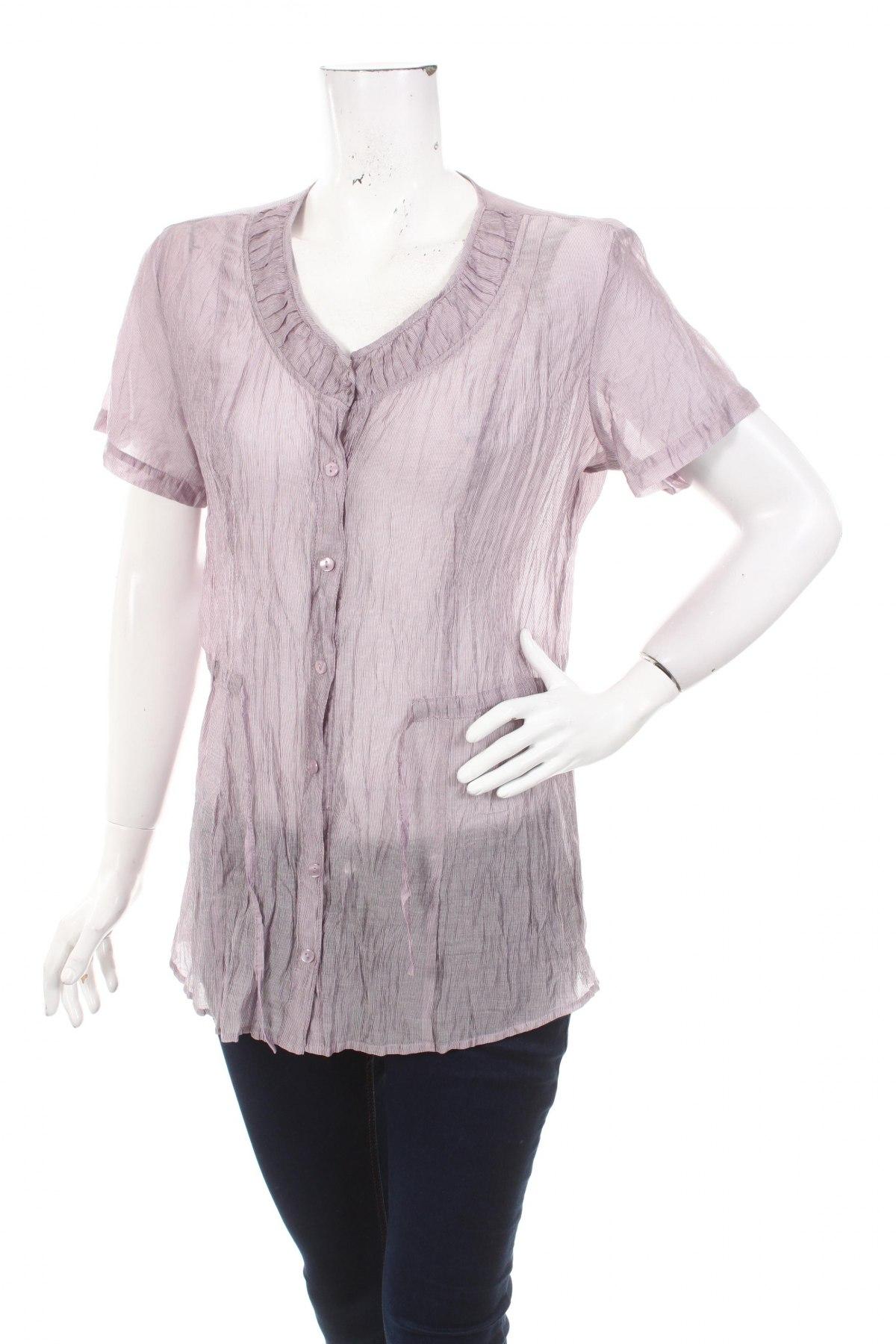 Γυναικείο πουκάμισο Bonita, Μέγεθος L, Χρώμα Βιολετί, Τιμή 9,90€