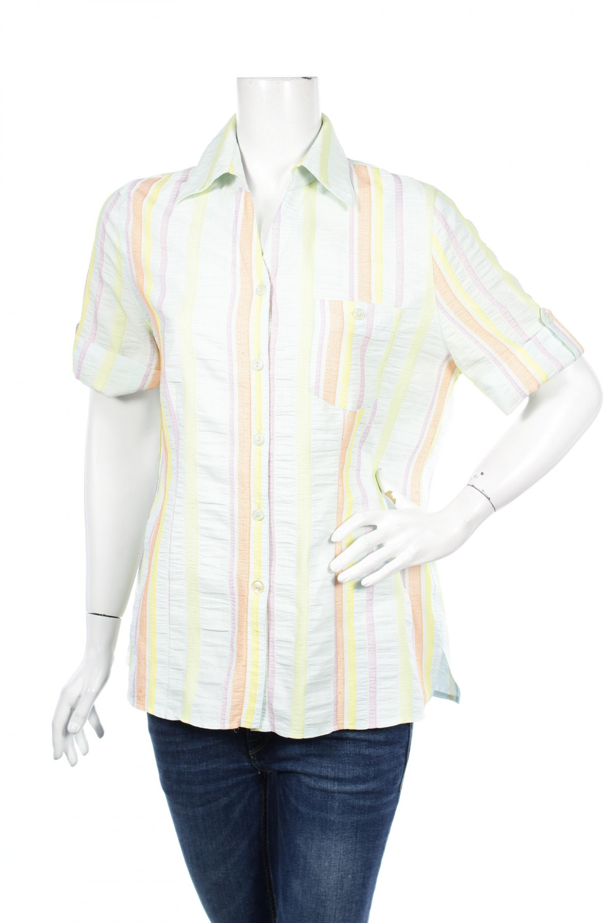 Γυναικείο πουκάμισο Nadia Nardi, Μέγεθος L, Χρώμα Πολύχρωμο, Τιμή 8,66€