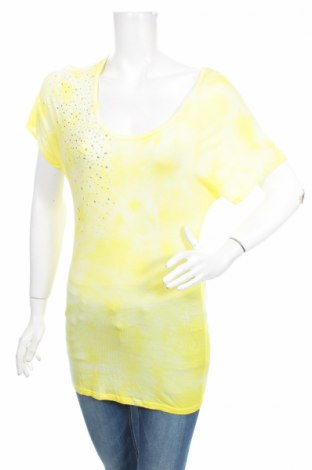 Дамска блуза I.n.c - International Concepts, Размер XS, Цвят Жълт, Вискоза, Цена 8,50лв.