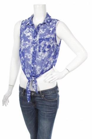 Γυναικείο πουκάμισο, Μέγεθος M, Χρώμα Μπλέ, Τιμή 9,90€