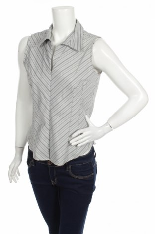 Γυναικείο πουκάμισο Dcc, Μέγεθος L, Χρώμα Γκρί, 67% πολυεστέρας, 30% πολυαμίδη, 3% ελαστάνη, Τιμή 11,13€