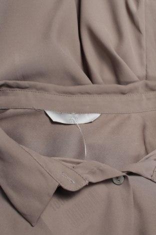 Γυναικείο πουκάμισο H&M, Μέγεθος L, Χρώμα Γκρί, Τιμή 19,18€