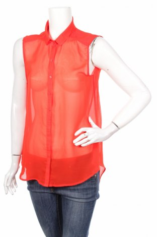 Γυναικείο πουκάμισο H&M, Μέγεθος M, Χρώμα Πορτοκαλί, Πολυεστέρας, Τιμή 11,13€